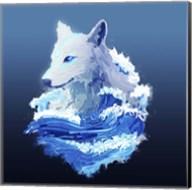 Wolf Wave Fine-Art Print