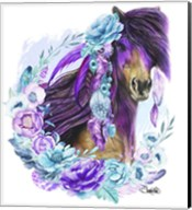 Purple Warrior Fine-Art Print