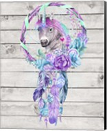 Unicorn Dream Catcher Fine-Art Print