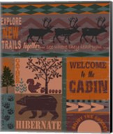 Cabin Throw Fine-Art Print