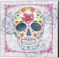 Deco Skull Fine-Art Print