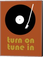 Tune on Turn In B Fine-Art Print