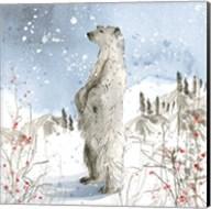 Standing Polar Bear Fine-Art Print
