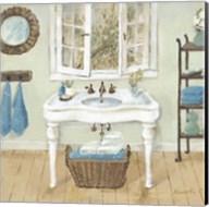 French Country Bathroom I Fine-Art Print