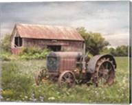 Clayton Tractor Fine-Art Print