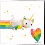 Rainbow Caticorn I Fine-Art Print