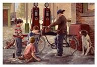 The Bike Patrol Fine-Art Print