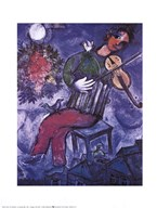Blue Violinist Fine-Art Print