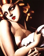 Femme a Colombe Fine-Art Print