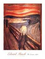 The Scream, c.1893 Fine-Art Print