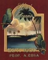 Hotel Oceano Fine-Art Print