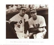 Ted Williams & Joe DiMaggio, 1951 Fine-Art Print