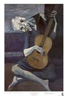 Old Guitarist Fine-Art Print