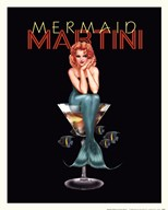 Mermaid Martini Fine-Art Print