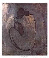 Blue Nude (Seated Nude) Fine-Art Print