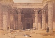 Grand Portico of the Temple of Philae Fine-Art Print