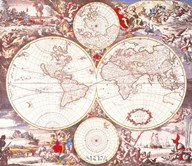 Map of the World Fine-Art Print