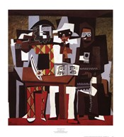 Three Musicians Fine-Art Print