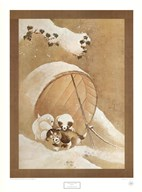 Puppies in the Snow Fine-Art Print