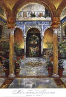 Mediterranean Fountain Fine-Art Print