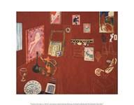 The Red Studio, 1911 Fine-Art Print