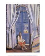 The French Window at Nice, late 1919 Fine-Art Print
