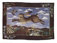 The Flying Hare Fine-Art Print