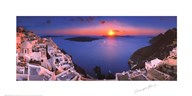 Sunset in the Mediterranean Fine-Art Print