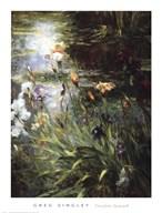 Water Garden Symphony I I Fine-Art Print