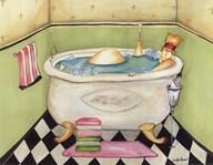Bathing Lady II Fine-Art Print