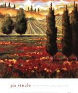 Tuscany In Bloom III Fine-Art Print