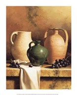 Earthenware with Grapes Fine-Art Print