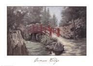 Crimson Bridge Fine-Art Print