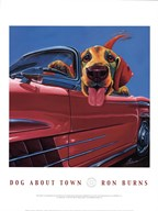 Dog About Town Fine-Art Print