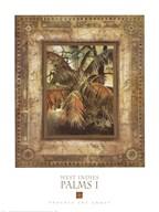West Indies Palms I Fine-Art Print