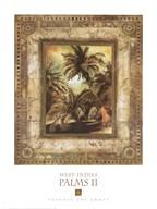 West Indies Palms II Fine-Art Print