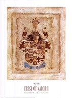 Crest of Valor I Fine-Art Print