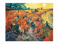 Red Vineyards at Arles, 1888 Fine-Art Print