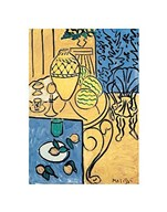 Interior in Yellow and Blue, 1946 Fine-Art Print