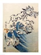 Waves and Birds Fine-Art Print