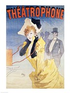 Poster Advertising the 'Theatrophone' Fine-Art Print