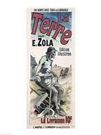 Poster advertising 'La Terre', 1889 Fine-Art Print