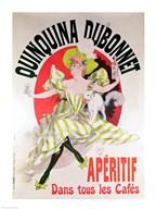 Poster advertising 'Quinquina Dubonnet' aperitif, 1895 Fine-Art Print