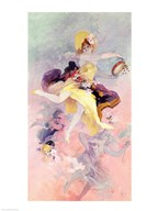 Dancer with a Basque Tambourine Fine-Art Print