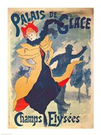 Poster advertising the Palais de Glace on the Champs Elysees Fine-Art Print