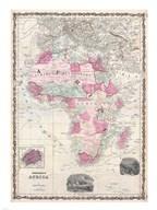 1862 Johnson Map of Africa Fine-Art Print