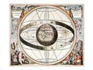 Cellarius Ptolemaic System Fine-Art Print
