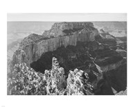 Close-in view of curved cliff, Grand Canyon National Park, Arizona Fine-Art Print