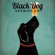Black Dog Brewing Co Square Fine-Art Print