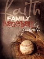 Faith Family Baseball Fine-Art Print
